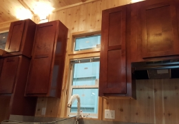 Castle Peak kitchen with camden cabinets