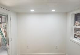 Enclosed beadboard ceiling