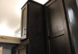 Dark Alder cabinets