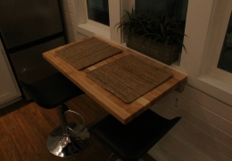 Butcher block Murphy table