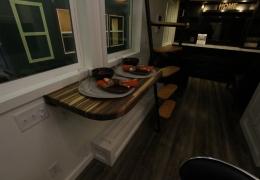 Black walnut butcher block table