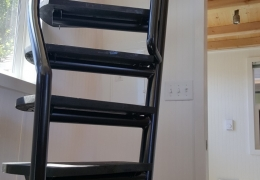 Custom sweeping ladder in the Castle Peak