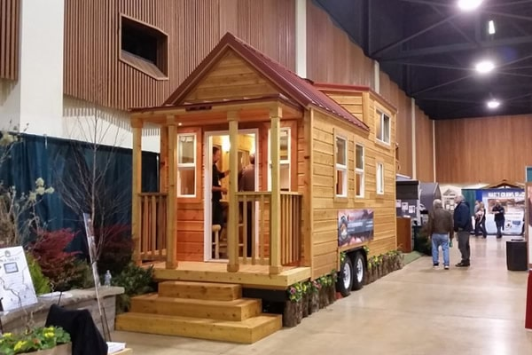 Tiny Mountain Houses Location: #1 Tiny House Company